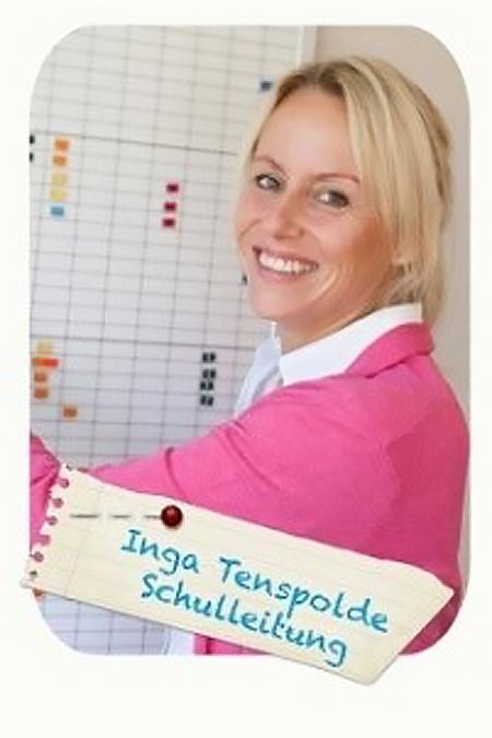 Schulleitung Inga Tenspolde